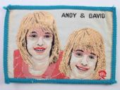 Andy & David - The Williams Brothers - Woven Patch